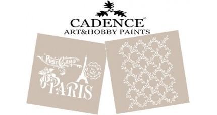 Plantillas Cadence Stencils 21*30